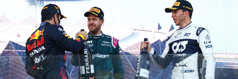Formula 1: Перез со целиот плен по драмата во Баку / ФОТО+ВИДЕО