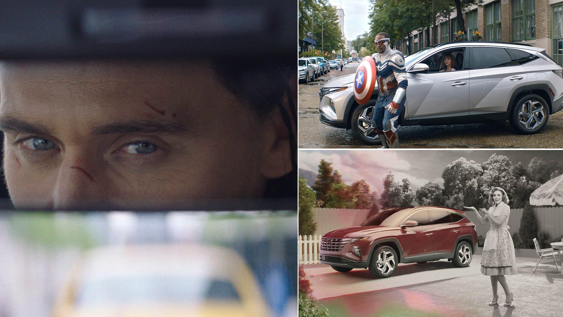 Суперхероите од Marvel Cinematic Universe и Hyundai Tucson рамо до рамо / ВИДЕО