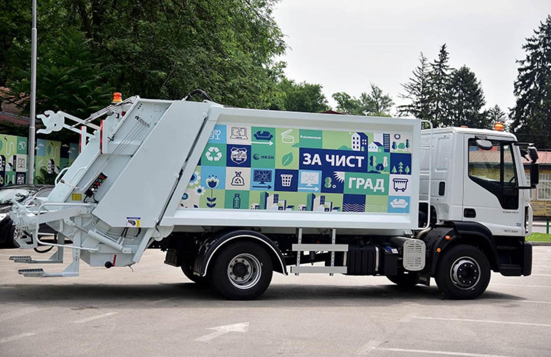 Нови 37 комунални возила ќе го чистат Скопје / ФОТО