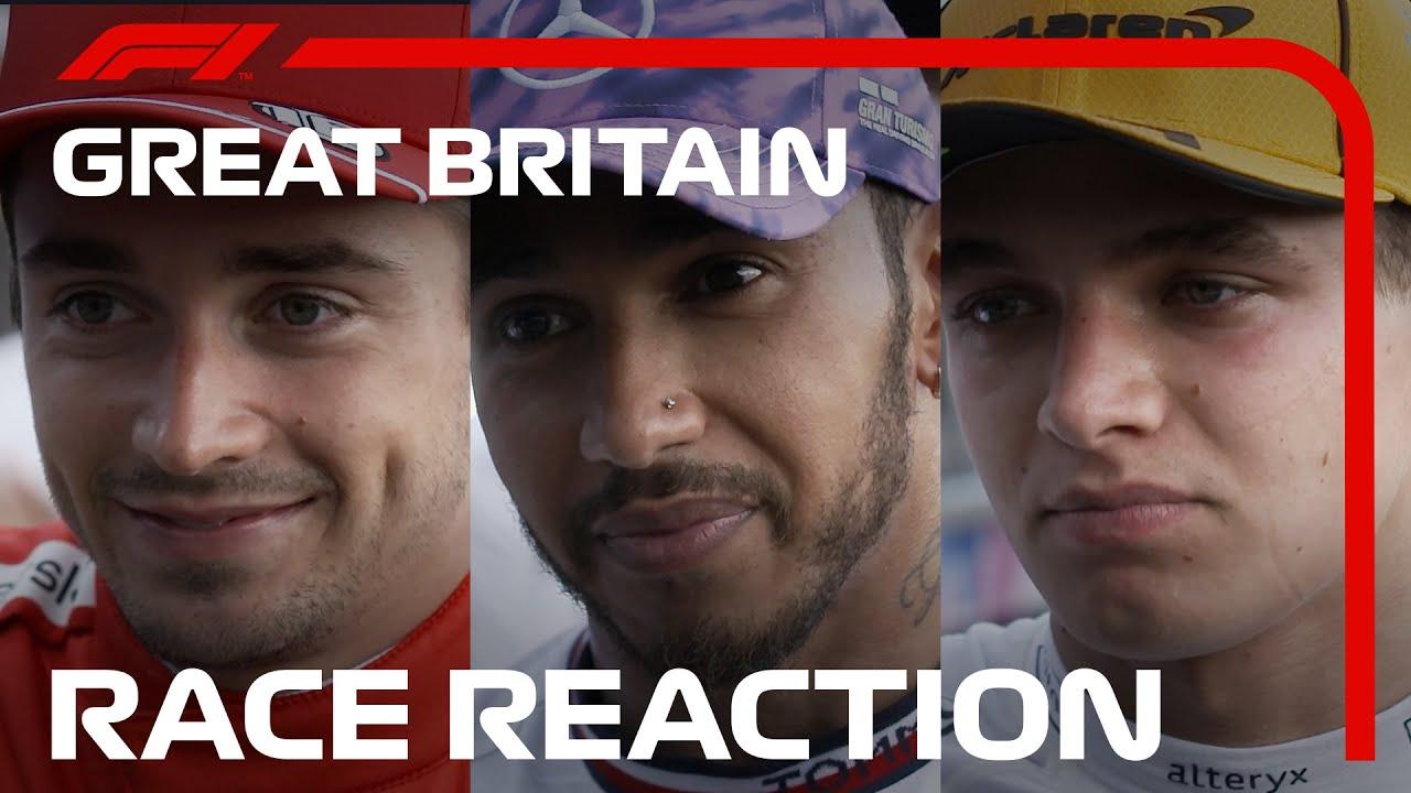 Formula 1: Изјави, реакции и казни по трката за ГН на Велика Британија / ФОТО+ВИДЕО