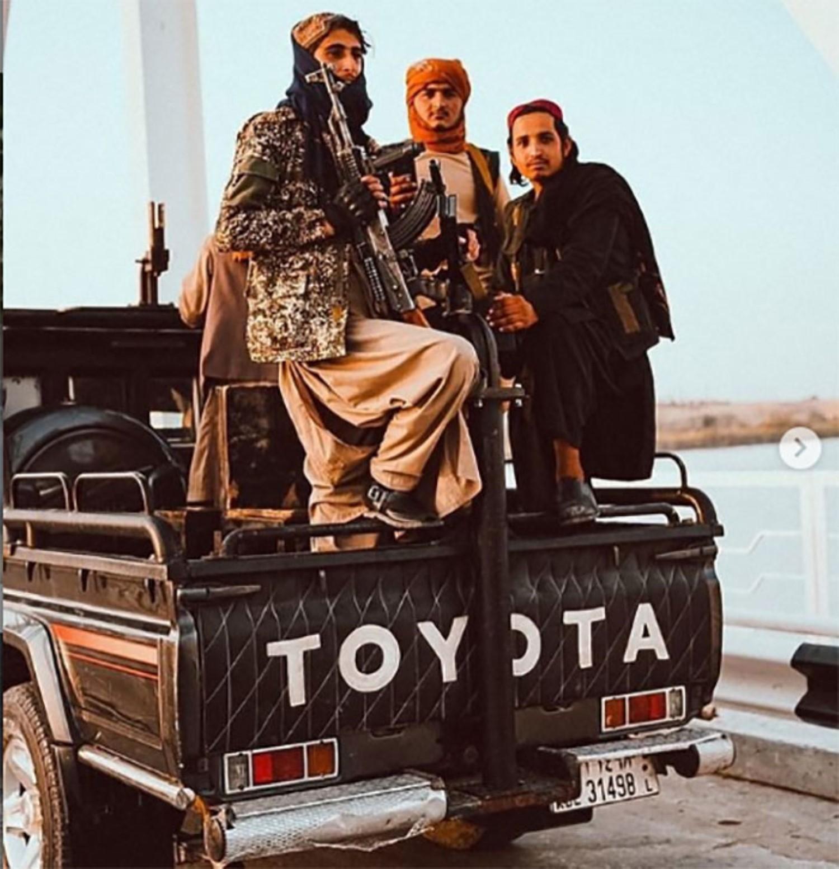 Што возат Талибанците? Она што и го очекувавте…