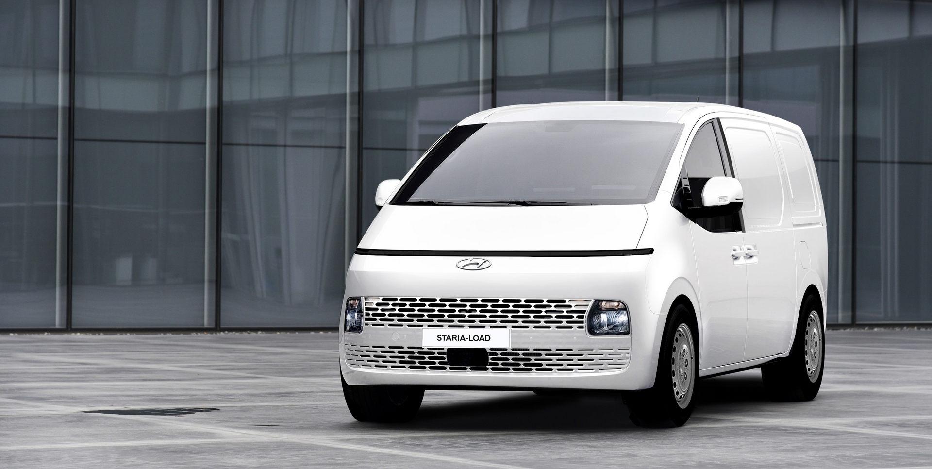 "Доаѓа ептен ""кул"" комерцијален ван од Hyundai: Staria-Load / ФОТО"