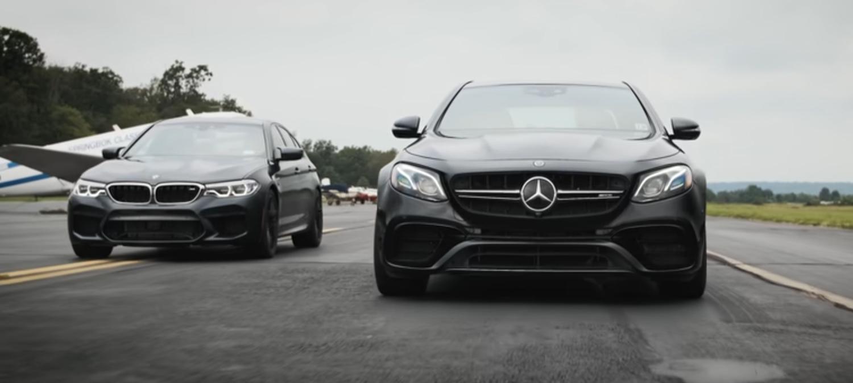 BMW M5 vs Mercedes-AMG E63 / ВИДЕО