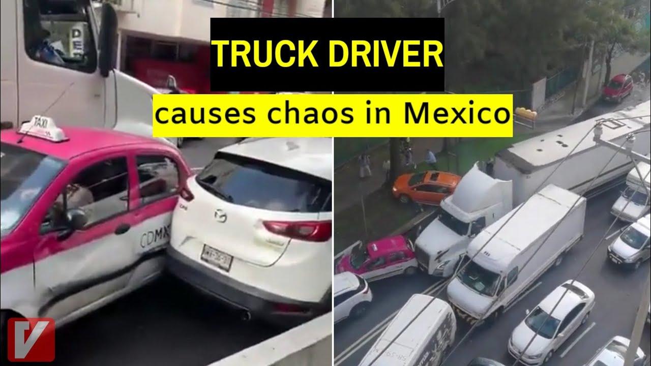 По секоја цена да се пројде: Камионџија влетал помеѓу автомобили, додал гас и … / ВИДЕО