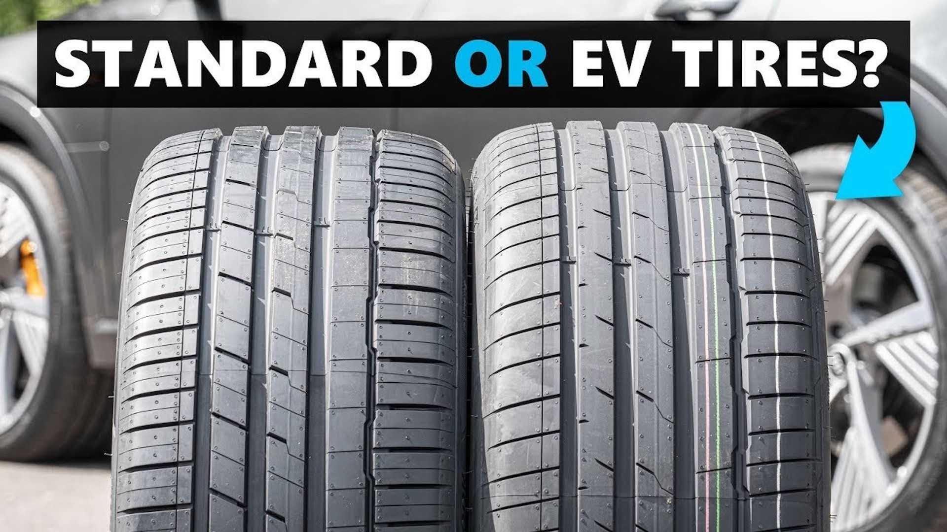 Стандардни или гуми за електрични автомобили, која е разликата? / ВИДЕО