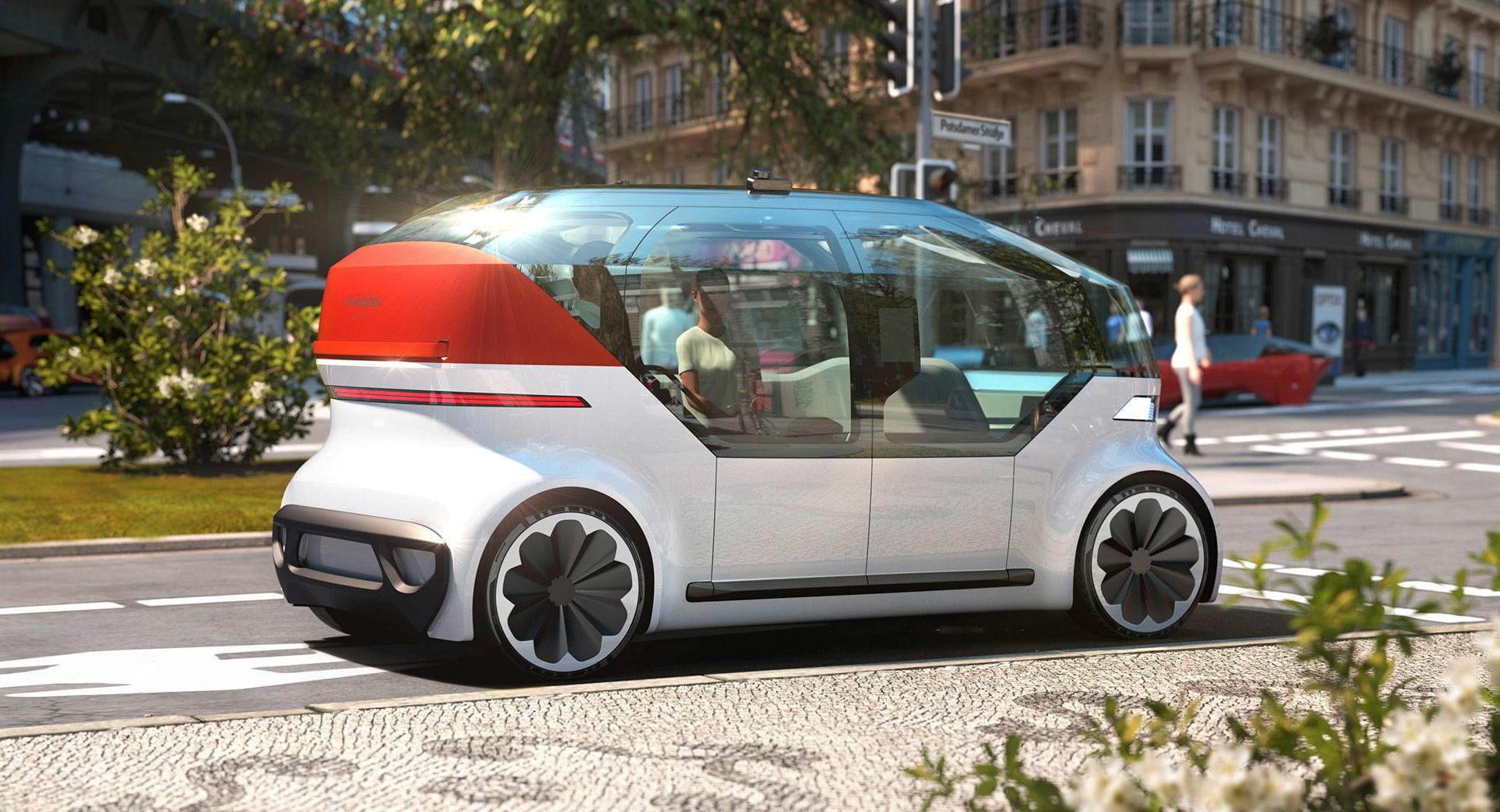 VW OnePod Concept: Роботакси на иднината / ФОТО